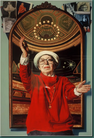 Portrait of Maureen Potter by James Hanley RHA