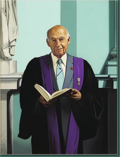 Portrait of Dr. John Kirker by Jame Hanley RHA
